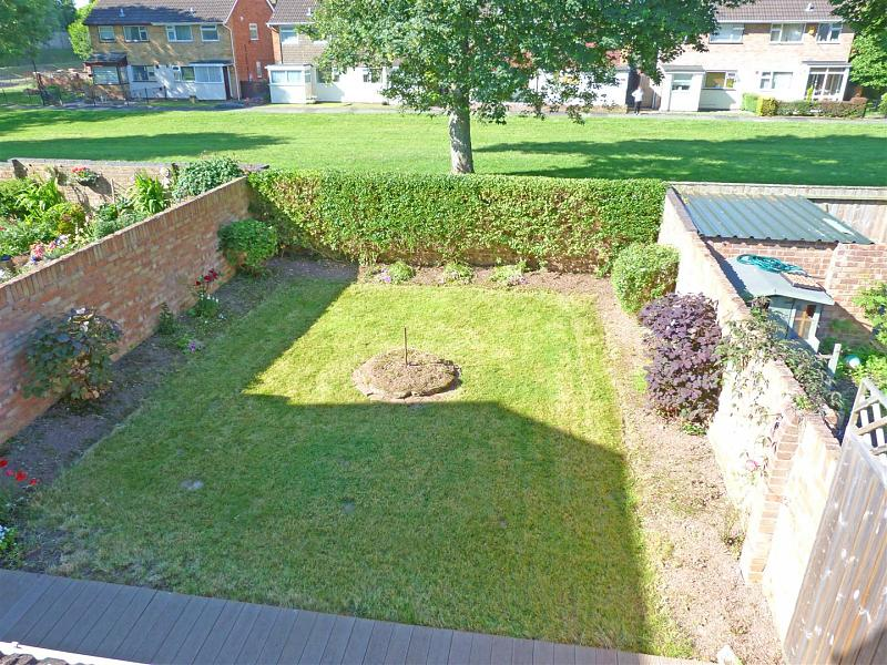 garden from upstairs